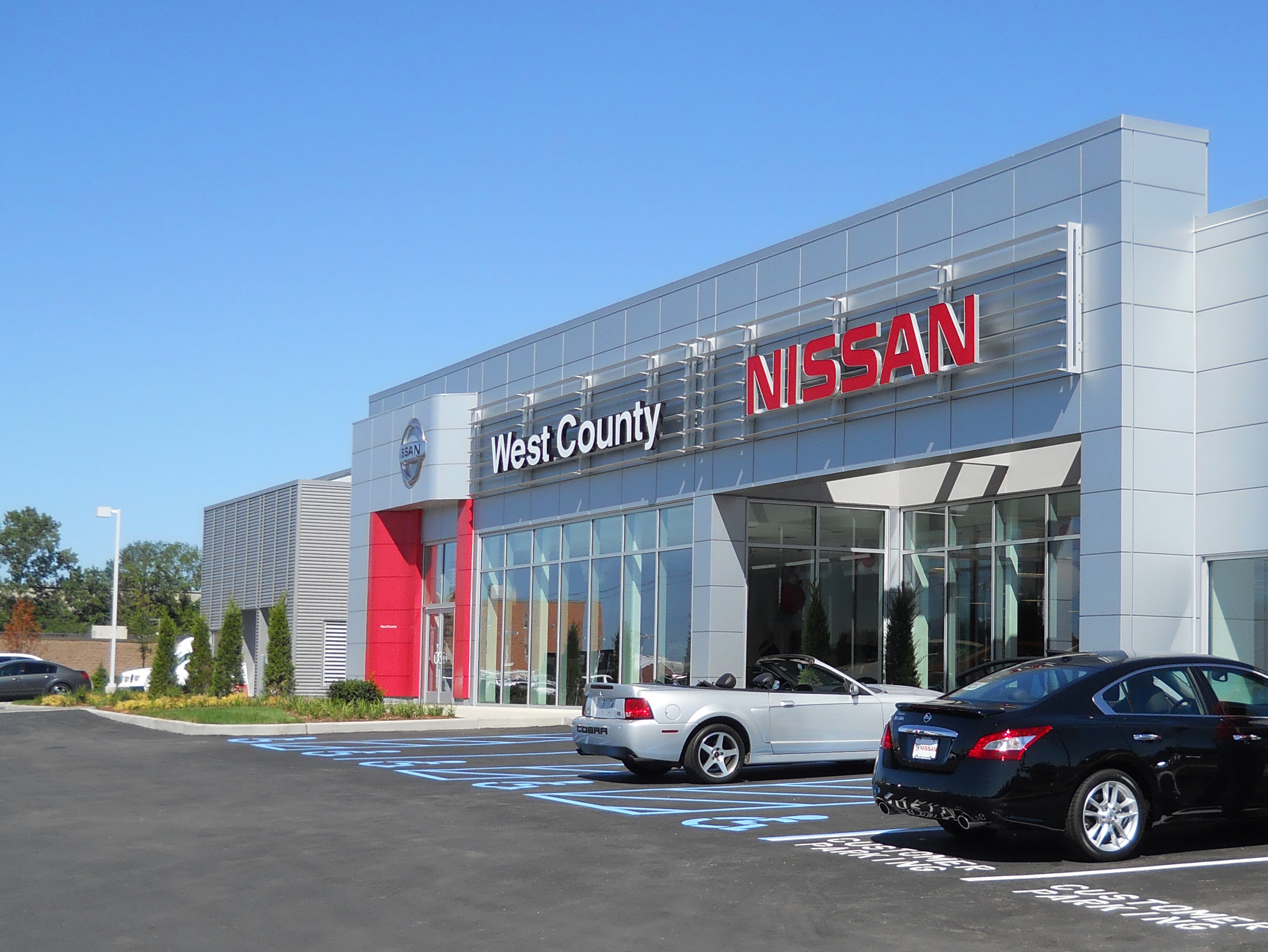 West county nissan tr i architects st louis for Plaza mercedes benz st louis